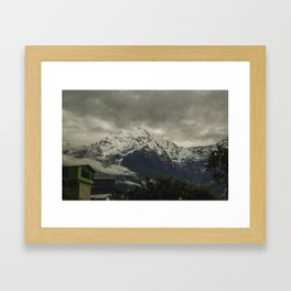 The Call of the Mountain 003 Framed Art Print