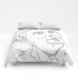 Matthew Bellamy WordsPortrait Comforters