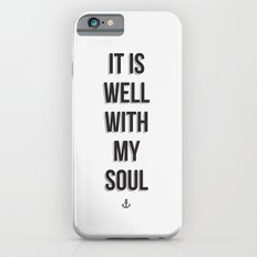 It Is Well iPhone 6s Slim Case