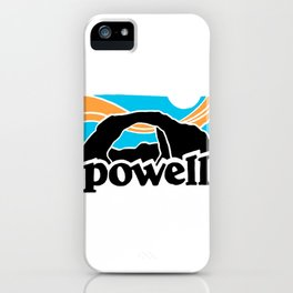 Lake Powell Vintage iPhone Case