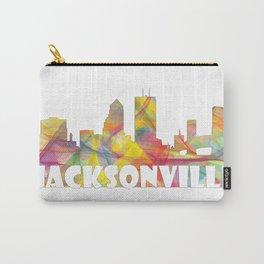 Jacksonville, Florida skyline MCLR 2 Carry-All Pouch