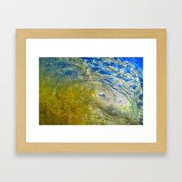 Wave Storm Framed Art Print
