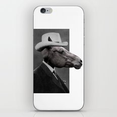 HORSE FACE iPhone & iPod Skin