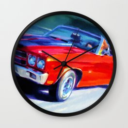 1970 Chevelle SS car Wall Clock