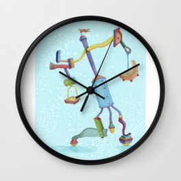 Could'a Been the Teapot Wall Clock