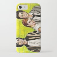 the perks of being a wallflower iPhone & iPod Cases featuring The Perks of Being a Wallflower by Elena Olshin