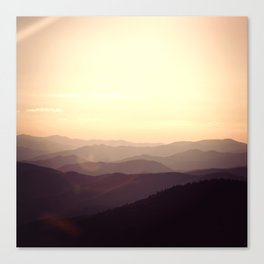 Smokier Mountain Canvas Print