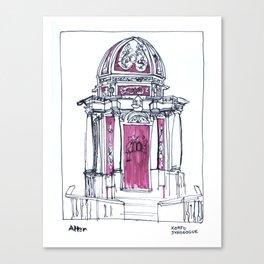Korfu Canvas Print