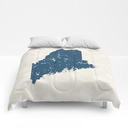 Maine Parks - v2 Comforters
