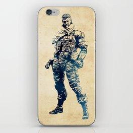Venom Snake - Metal Gear Solid iPhone Skin