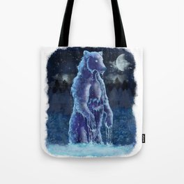 Moon Bear Tote Bag