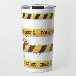 Police Line Travel Mug