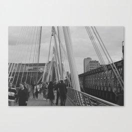 The Walk of London Canvas Print