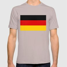 National flag of Germany Cinder Mens Fitted Tee X-LARGE