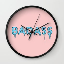Badass Wall Clock