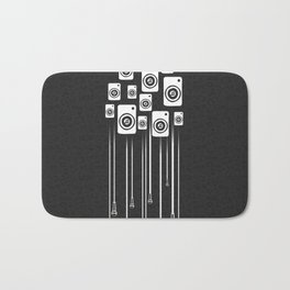 Music is Life Bath Mat
