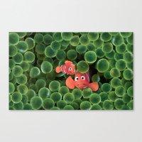 nemo Canvas Prints featuring Nemo by pokopang7