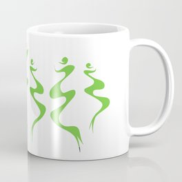 Dancers green Coffee Mug