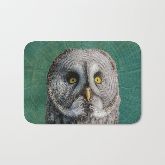 GREY OWL Bath Mat