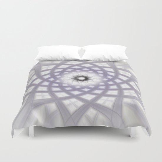 Lilac Twirl Duvet Cover