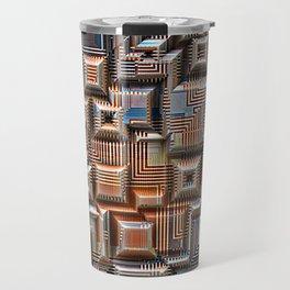 3D Digital Circuitry Travel Mug