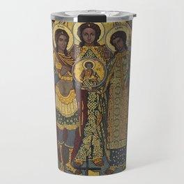Archangels in dazzling mosaic Travel Mug