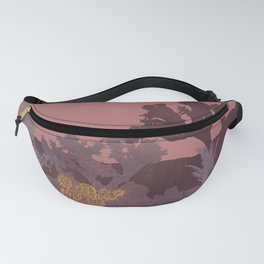 Just A Tiny Golden Cactus Fanny Pack