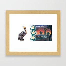 Biloxi Lighthouse 2 (Biloxi MS) Framed Art Print