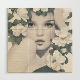 Magnolia Wood Wall Art