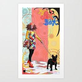 MySweetFreak - Molly2 Art Print