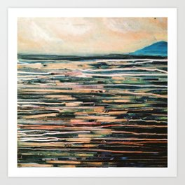 To the sea Art Print