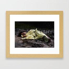 Birthing Capricorn Framed Art Print