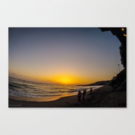 Cali Sunset Canvas Print