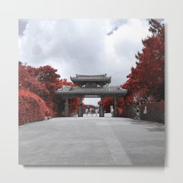 Shuri Gate Metal Print