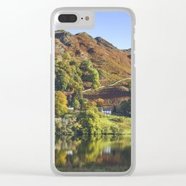 Loughrigg Tarn. Clear iPhone Case