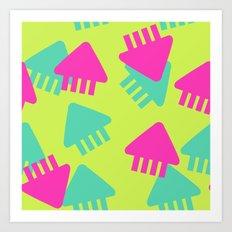 Spl@toon Fabric Art Print