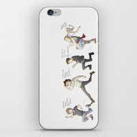 1d iPhone & iPod Skins featuring 1D on the Run by Aki-anyway