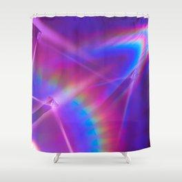 Babe Rainbow Shower Curtain