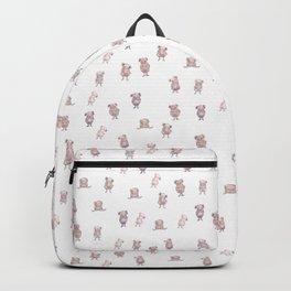 Little man pattern Backpack