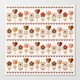 LOVE GARDEN - VINTAGE Canvas Print