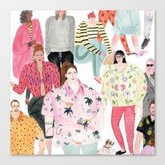 people Canvas Print