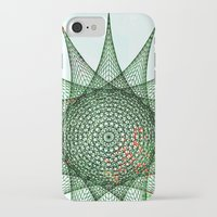 snowflake iPhone & iPod Cases featuring Snowflake by Nick Brummer