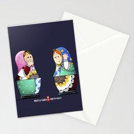 MATRYOSHKA CONFUSED Stationery Cards