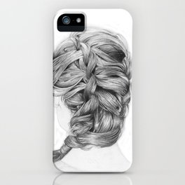French Braid iPhone Case