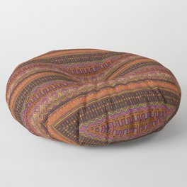 African Mud Cloth Inspired Pattern Floor Pillow