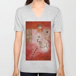Paul Klee - Prestidigitator Unisex V-Neck