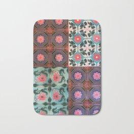 Myanmar Temple Color Tile Bath Mat