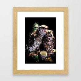 Avian Allies Framed Art Print