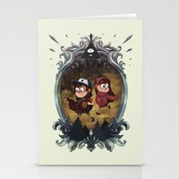 gravity falls Stationery Cards featuring Gravity Falls by Vaahlkult
