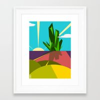 oz Framed Art Prints featuring Oz. by Spencer Kurtti Designs